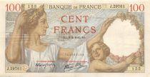 France 100 Francs Sully - 02-04-1942 Série J.29761 - TTB