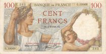 France 100 Francs Sully - 02-05-1940 Serial G.10066 - VF