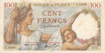 France 100 Francs Sully - 02-05-1940 Serial G.10066 - VF