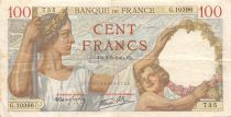 France 100 Francs Sully - 02-05-1940 Serial G.10396 - VF