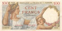 France 100 Francs Sully - 02-05-1940 Serial Q.10179 - VF