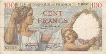 France 100 Francs Sully - 02-05-1940 Série N.10487 - TB