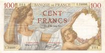 France 100 Francs Sully - 02-10-1941 Série U.24896 - TTB+