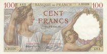 France 100 Francs Sully - 03-04-1941 - Série A.20326