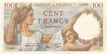 France 100 Francs Sully - 04-04-1940 Série Z.9480 - TTB