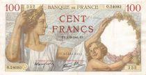 France 100 Francs Sully - 04-09-1941 Série O.24093 - TTB