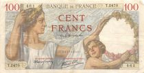 France 100 Francs Sully - 05-10-1939 Serial T.2470 - VF