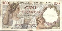 France 100 Francs Sully - 05-10-1939 Serial W.2265 - F