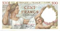 France 100 Francs Sully - 06-06-1940 Série U.11543 SPL