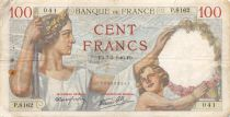 France 100 Francs Sully - 07-03-1940 Série P.8162 - TB