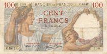 France 100 Francs Sully - 07-12-1939 Série C.4842 - TTB