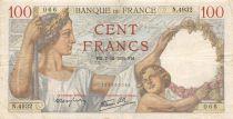 France 100 Francs Sully - 07-12-1939 Série N.4932 - TB+