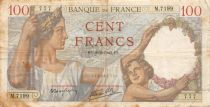France 100 Francs Sully - 08-02-1940 Serial M.7199 - F