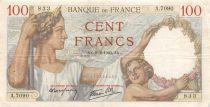 France 100 Francs Sully - 08-02-1940 Série A.7090 - TTB