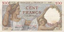 France 100 Francs Sully - 08-06-1939 Série Z.97