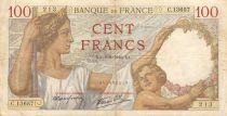 France 100 Francs Sully - 08-08-1940 Série C.13657 - TTB