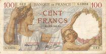 France 100 Francs Sully - 08-08-1940 Série Q.13654 - TB