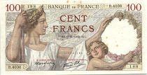 France 100 Francs Sully - 09-11-1939 Serial R.4036 - VF