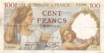 France 100 Francs Sully - 10-07-1941 Serial P.23394 - VF