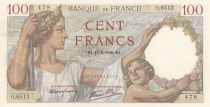 France 100 Francs Sully - 11-01-1940 Série O.6513