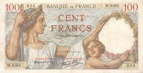 France 100 Francs Sully - 11-01-1940 Série W.6383 - TTB