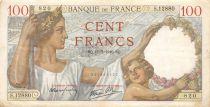 France 100 Francs Sully - 11-07-1940 Série S.12880 - TB