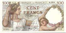 France 100 Francs Sully - 12-10-1939 Serial M.2904 - VF