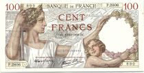 France 100 Francs Sully - 12-10-1939 Serial P.2806 - VF to XF