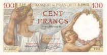 France 100 Francs Sully - 13-03-1941 Série B.19852 - SPL