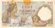 France 100 Francs Sully - 14-09-1939 Serial P.978 - F+