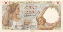 France 100 Francs Sully - 16-08-1940 Série L.14150 - TTB