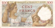 France 100 Francs Sully - 17-04-1941 Serial A.21058 - VF