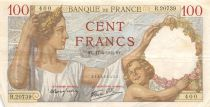 France 100 Francs Sully - 17-04-1941 Serial R.20739 - VF