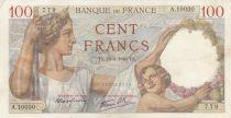France 100 Francs Sully - 18-04-1940 - Série A.10030