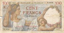 France 100 Francs Sully - 18-04-1940 Série W.9608 - B