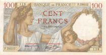 France 100 Francs Sully - 19-03-1942 Série P.29512 - TTB