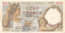 France 100 Francs Sully - 19-10-1939 Serial B.33304 - VF