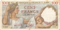 France 100 Francs Sully - 19-10-1939 Serial F.3297 - F+