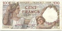France 100 Francs Sully - 19-10-1939 Serial U.3144 - VF