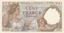 France 100 Francs Sully - 19-12-1940 Serial B.11725