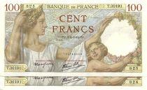 France 100 Francs Sully - 1942