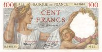 France 100 Francs Sully - 20-02-1941 Série D.19563 - SPL