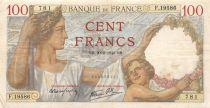 France 100 Francs Sully - 20-02-1941 Série F.19586 - TTB
