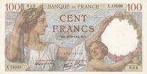 France 100 Francs Sully - 20-02-1941 Série X.19568