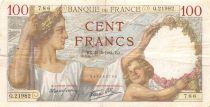 France 100 Francs Sully - 21-05-1941 Série Q.21982 - PTB