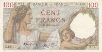 France 100 Francs Sully - 21-09-1939 - Série N.1213