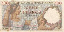 France 100 Francs Sully - 21-12-1939 Série B.5510 - TTB