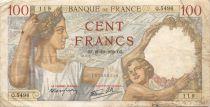 France 100 Francs Sully - 21-12-1939 Série Q.5496 - TB
