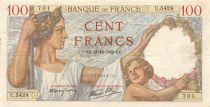 France 100 Francs Sully - 21-12-1939 Série U.5424 - TTB