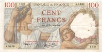 France 100 Francs Sully - 21-12-1939 Série X.5438 - TTB